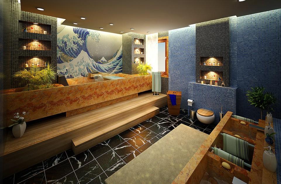 -tiled-bathroom