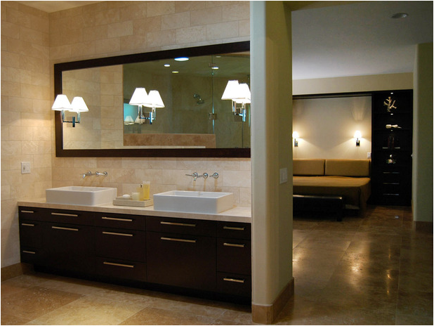 transitional bathroom- designs