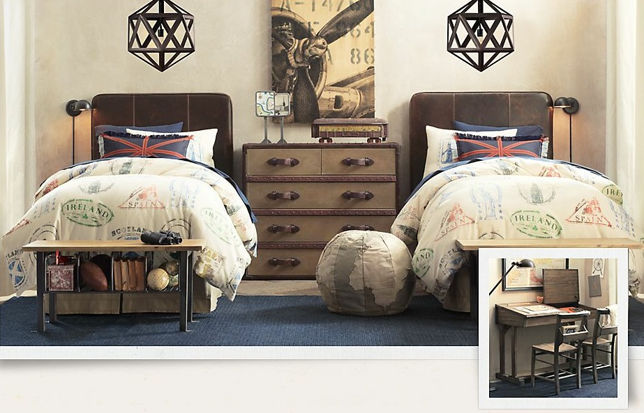 travel-themed-kids-bedroom-stunning-treasure-trove-of-traditional-boys-room-decoration-2238
