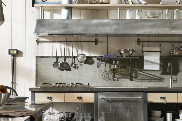 vintage-and-industrial-style-kitchens