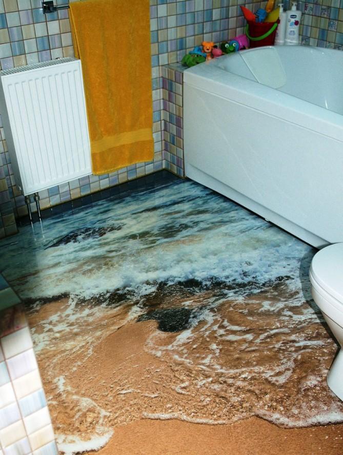 3d bathroo,
