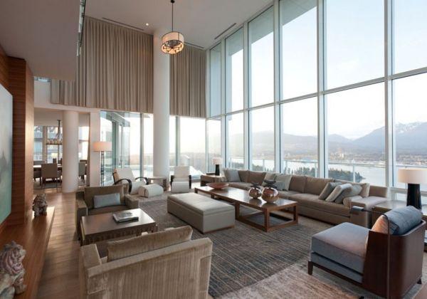 Contemporary-penthouse-interior-design