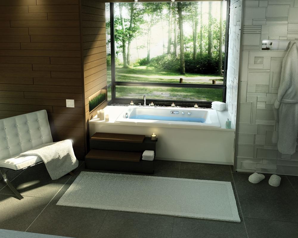 Cozy-bathroom-lovely-minimalist-modern-bathtub-design-ideas-