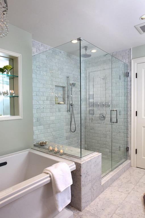 Elegant-Brick-Walls-in-Small-Bathroom-Designs