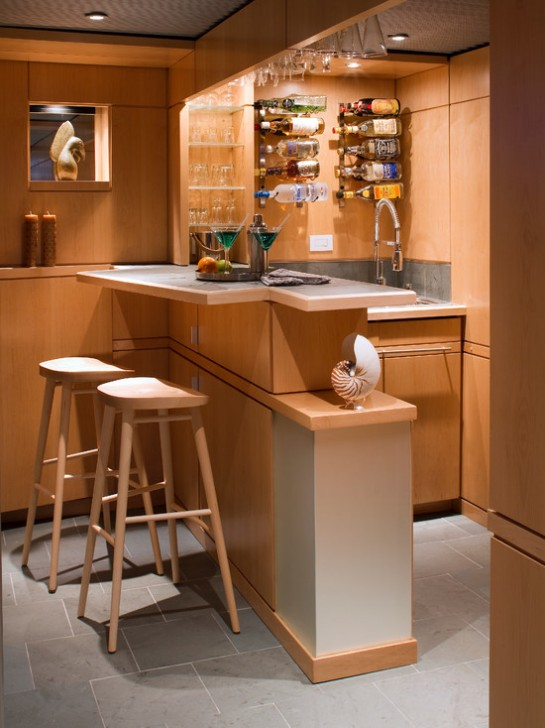 Fantastic-Wooden-Mini-Bar-Space-Furnished-by-the-Appliances