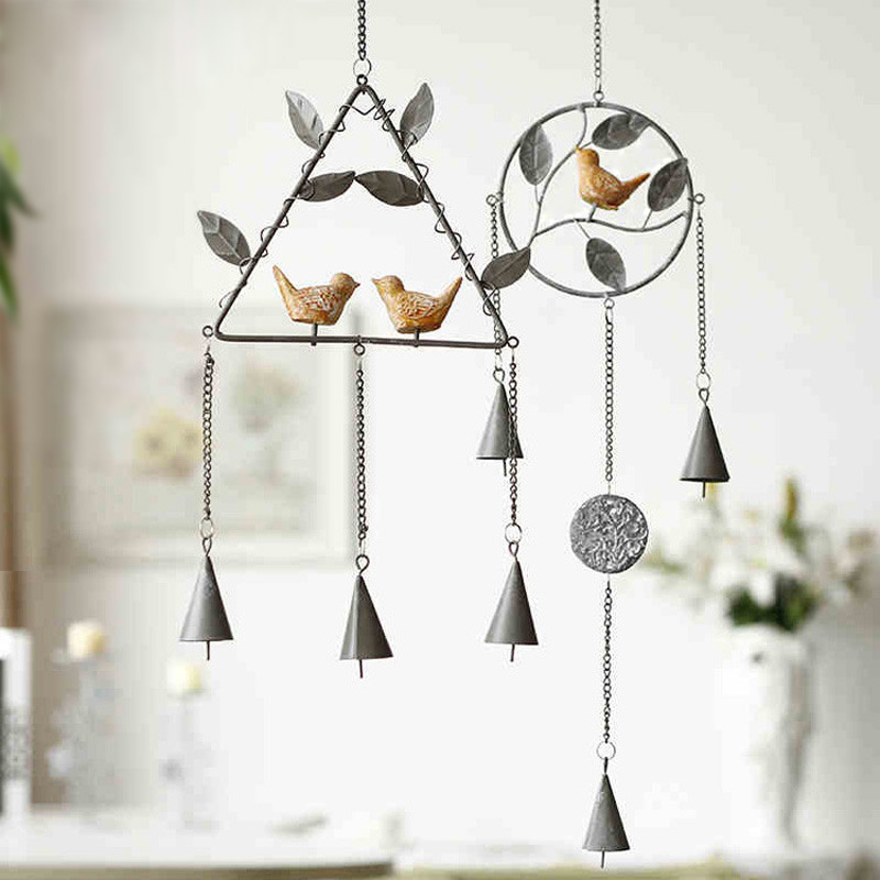 Free-shipping-zakka-wind-chimes-door-trim-ornaments-creative-gifts-metal-chimes-bedroom-Japanese-style-home