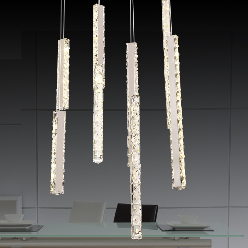 Free-shippingRectangular-LED-Crystal-Light-wind-chimes-creative-romantic-restaurant-chandelier-modern-living-room-lamps-bedroo