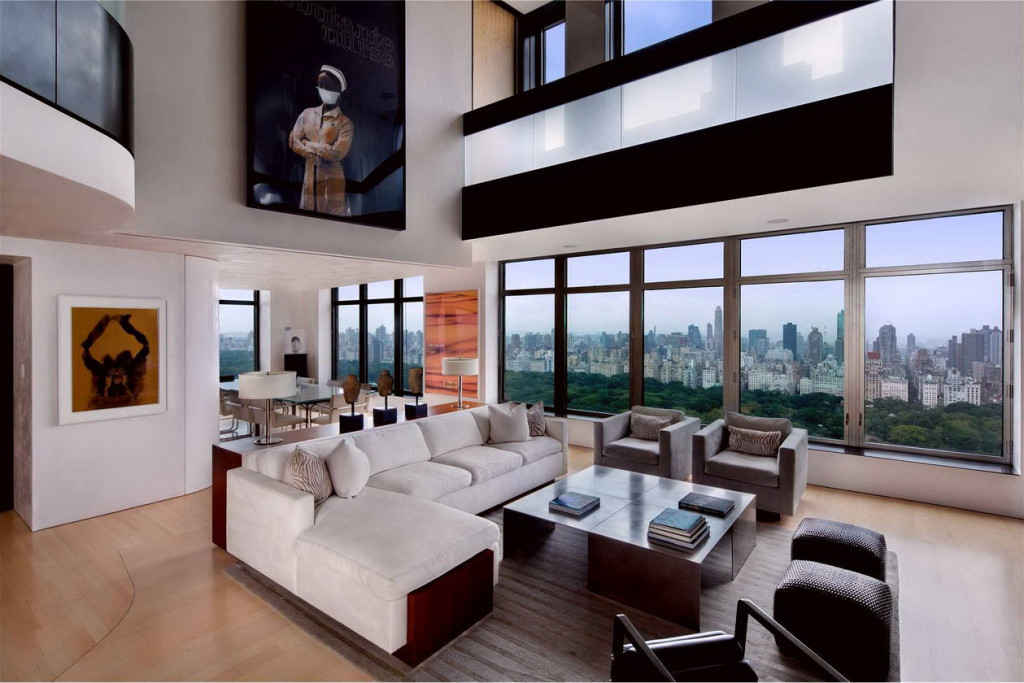 Luxurious-Modern-Penthouse-Design-with-Paintings-