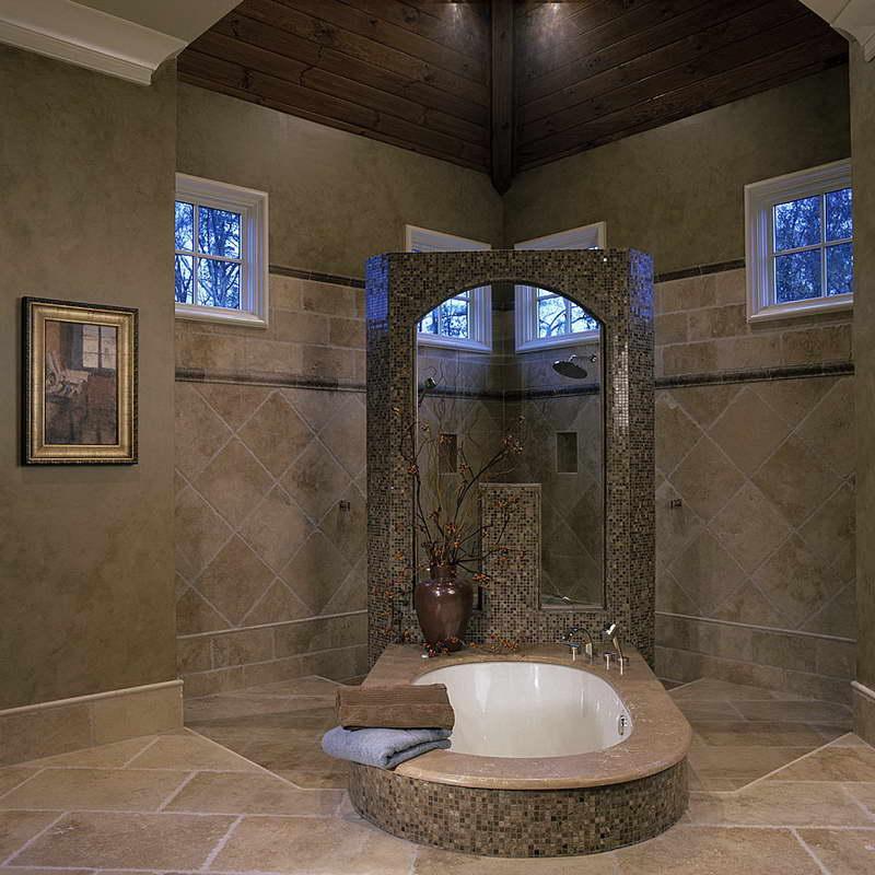 Master-Bathroom-Floor-With-Wood-Roof