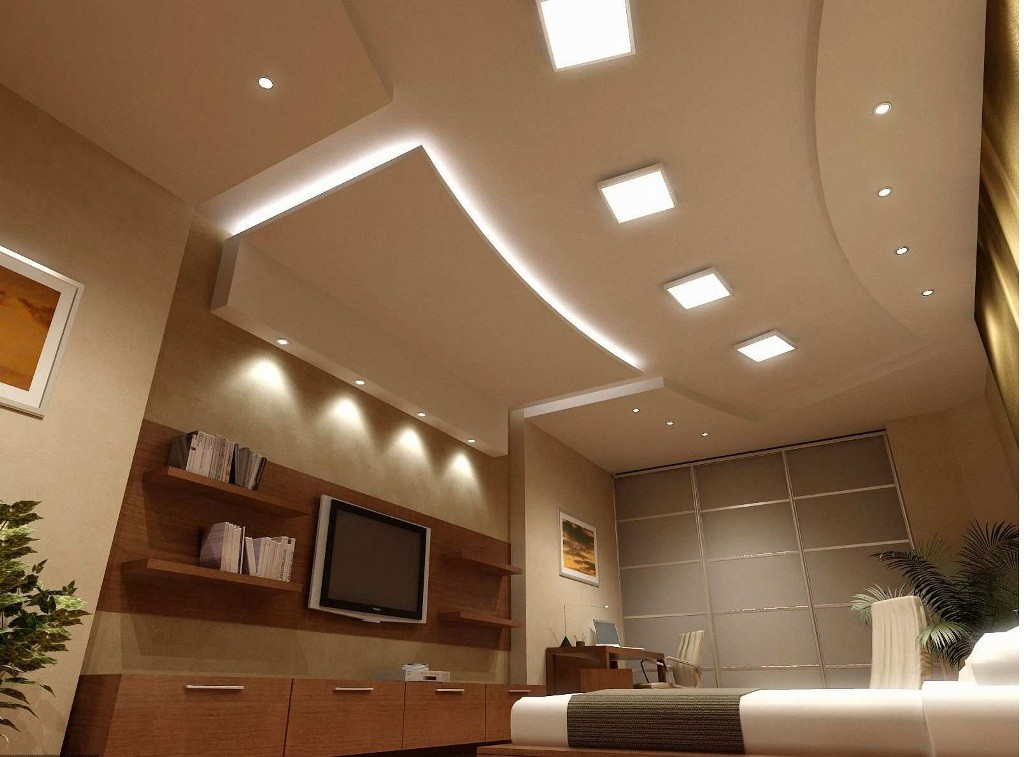 Modern-living-room-with-beautiful-ceiling-lighting