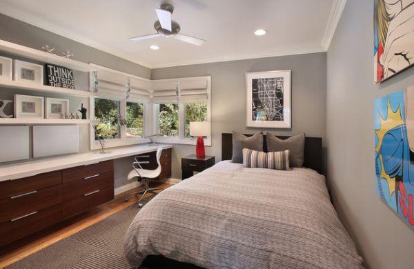 Modern-teenage-boys-rooms-in-trendy-muted-grey