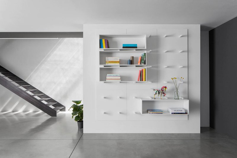Simple-Wall-that-Features-Modular-Shelving-System