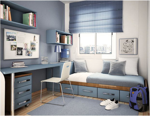 Teen boys modern bedrooms
