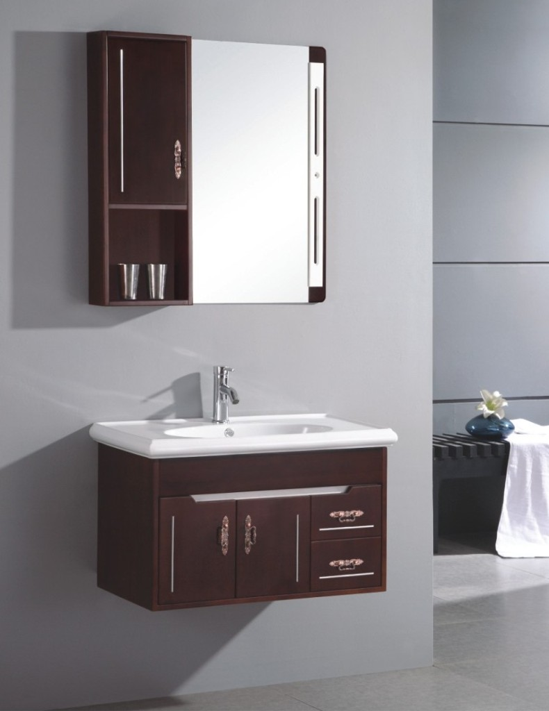attractive-small-wall-mounted-single-sink-wooden-bathroom-vanity-cabinet