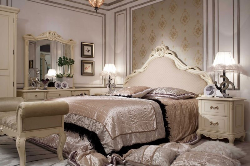 20 Amazing French Bedrooms Design Ideas