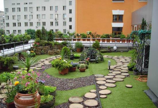rooftop-garden-with-best-landscaping-designs