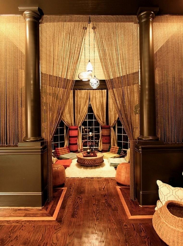 round-coffee-table-also-modern-wooden-flooring-design-idea-