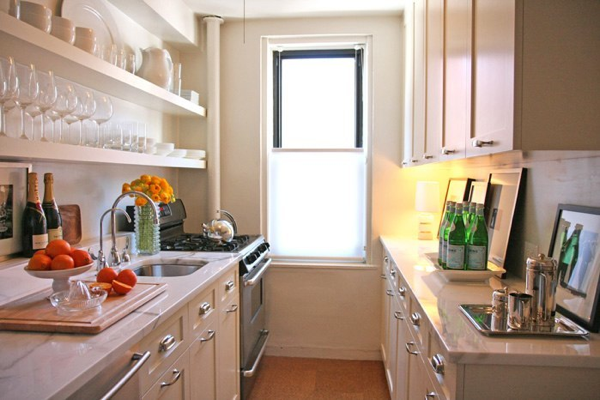 small gallary kitchen