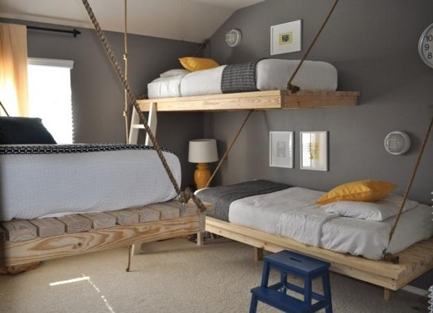 space-saving-furniture-loft-bed-small-bedroom-design-