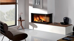 20 Ultramodern Fireplace Design Ideas