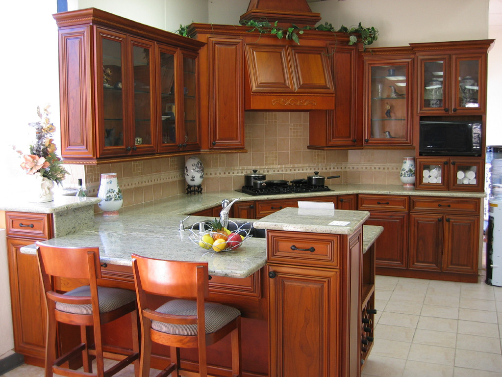 wood-kitchen-cabinets-brilliant-decoration-wood-kitchen-interior-on-kitchen-floor-tile-design-ideas
