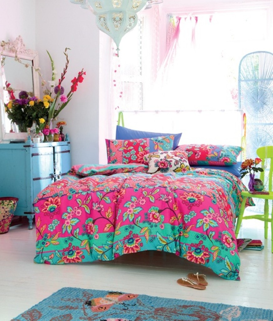 Colorful-Boho-Chic-Kids-Bedroom