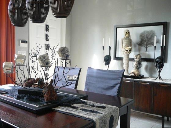 Halloween-Home-Decoration-Ideas-with-Skull-Shape