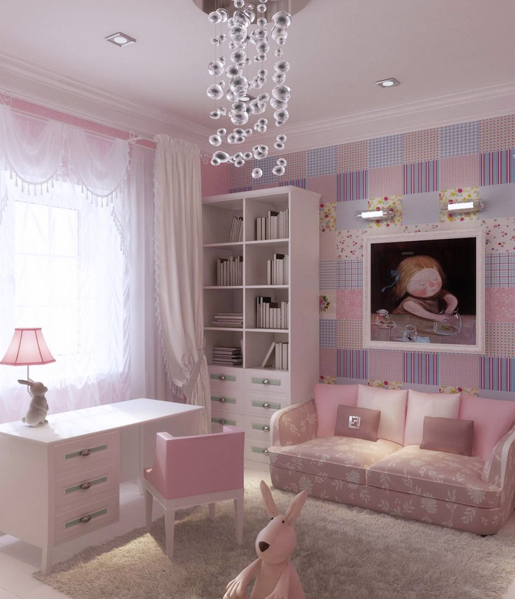 Pink-lilac-blue-girls-room