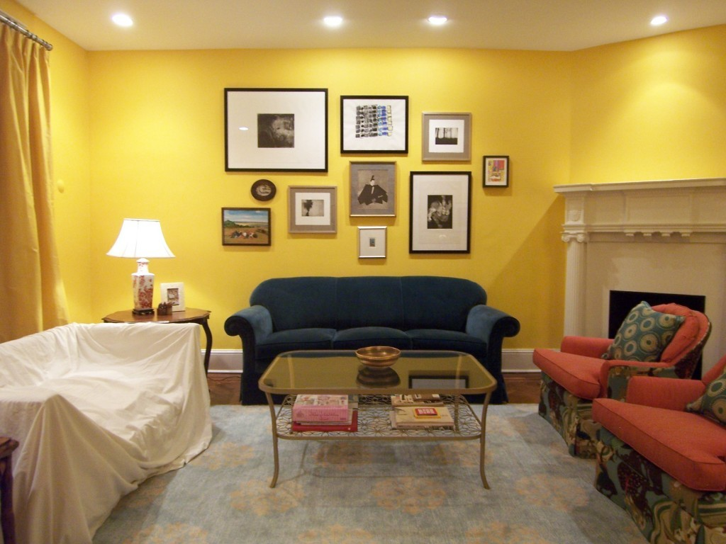 Splendid-Yellow-Living-Room-Color-Ideas-