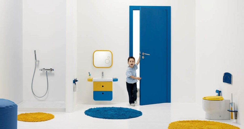 antique-ultramodern-kids-colorful-bathroom-design