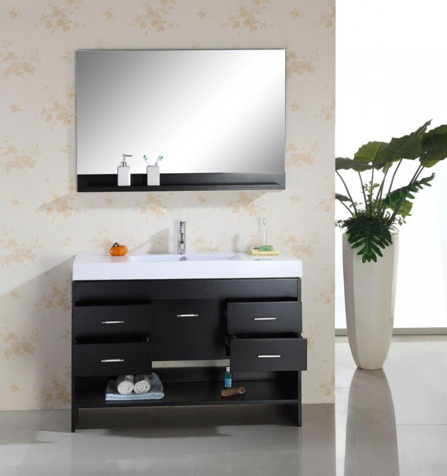 awesome-black-bathroom-vanity-furniture-idea-