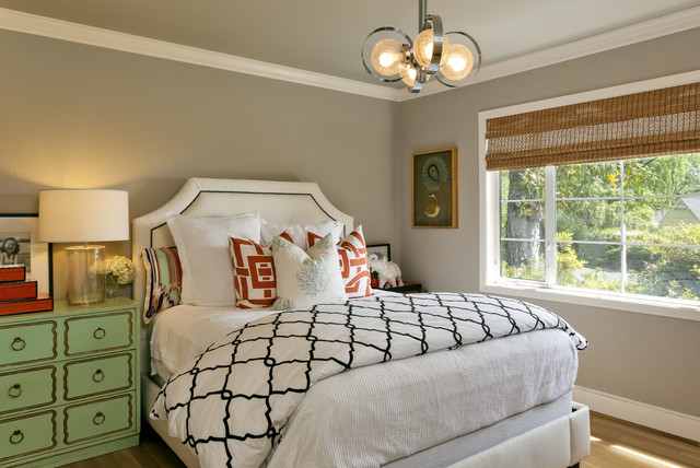 contemporary-guest bedroom