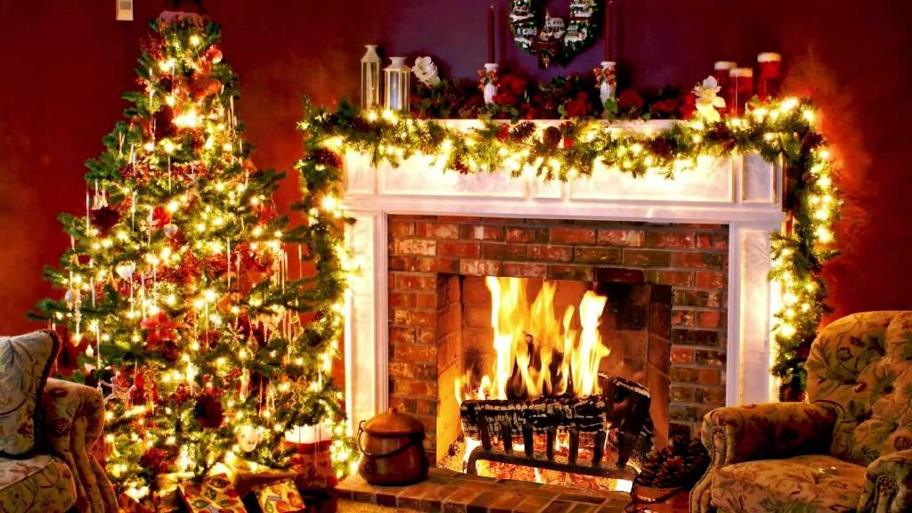 fireplace for christmas_