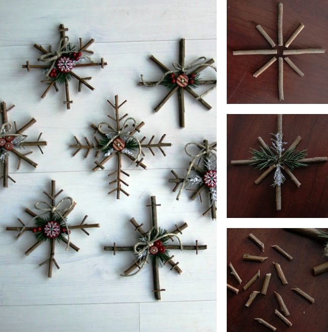 interior-decoration-furniture-diy-rustic-wall-mounted-snowflakes-from-logs