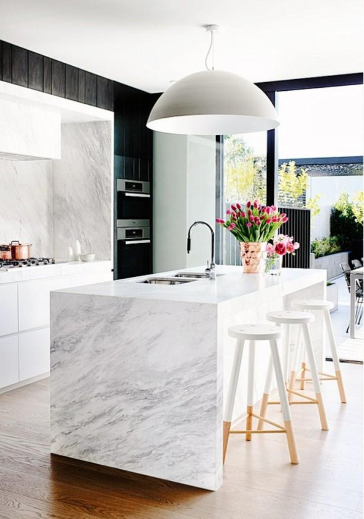 main.original kitchen marble stand