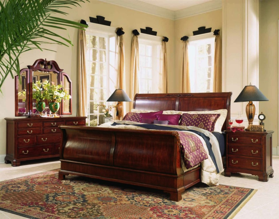 sleigh-bed-sets-king-
