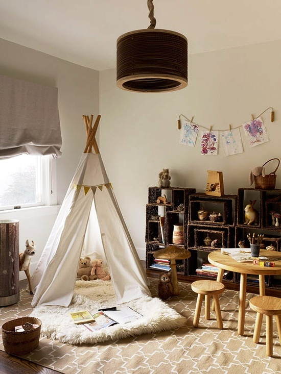 teepee-reading-space