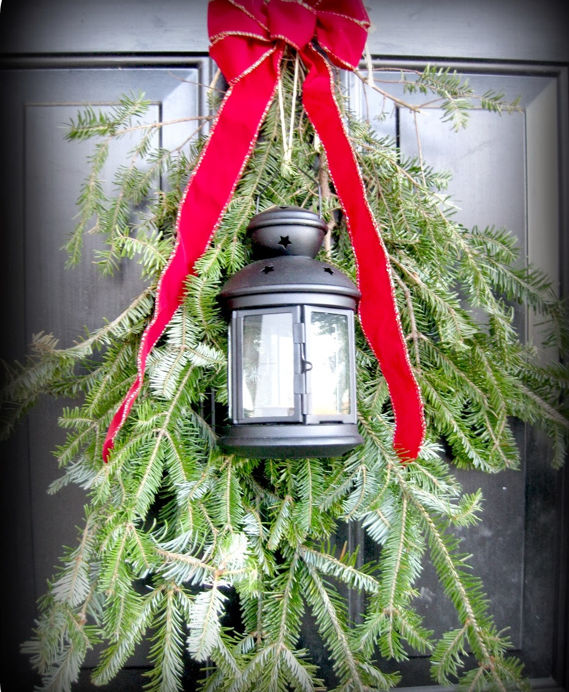 Front Door Christmas Swag