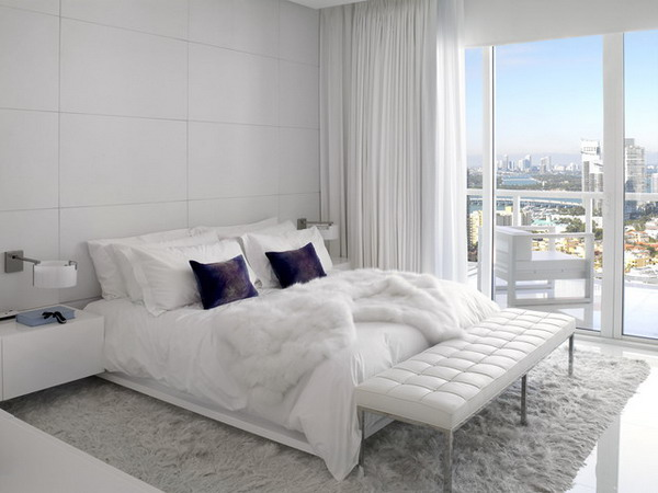 Modern-Bedroom-Design-with-White-Furniture-Set