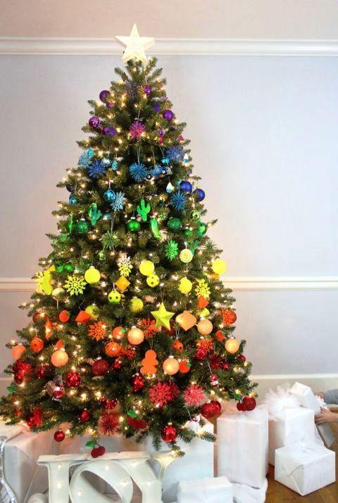 Rainbow Christmas Tree