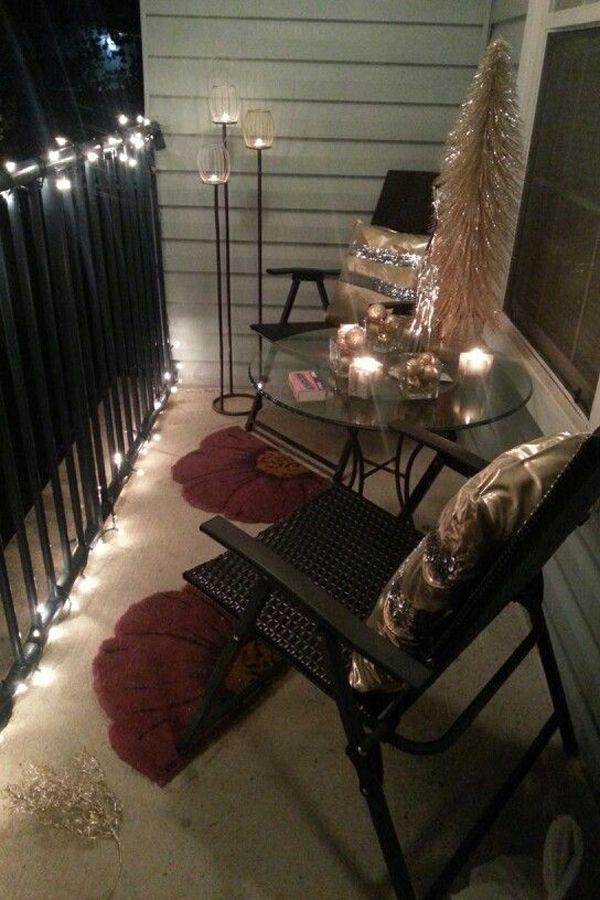 Small Balcony Lighting Ideas