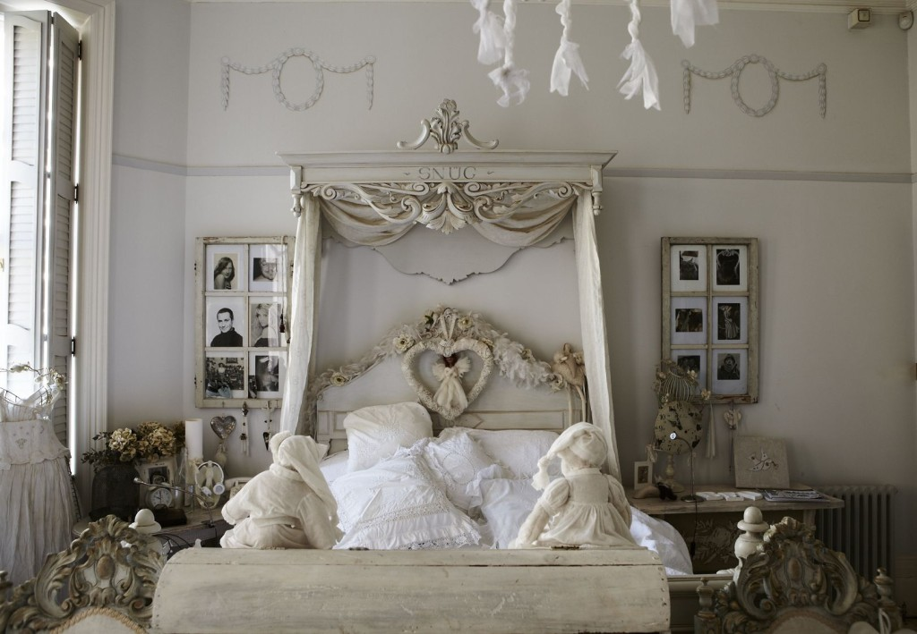 beautiful-shabby-chic-style-creamy-brown-bedroom-design-ideas-