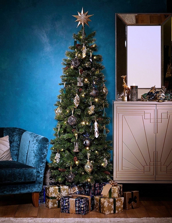 pencil-Christmas-tree-ideas-space-saving-ideas-Christmas-trees-ideas