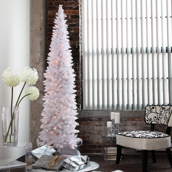 white-christmas-tree-artificial-christmas-trees-pre-lit-pencil-christmas-tree
