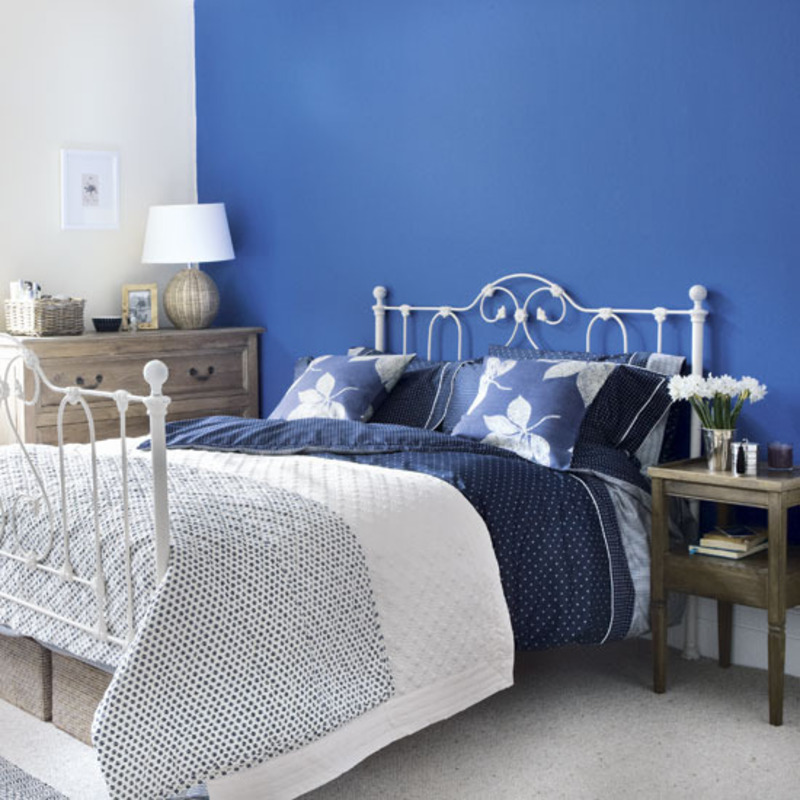 blue bedroom color schemes, bedroom, color combinations, colorful design, blue bedroom