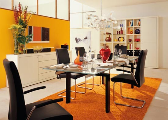 Colorful-dining-room-design