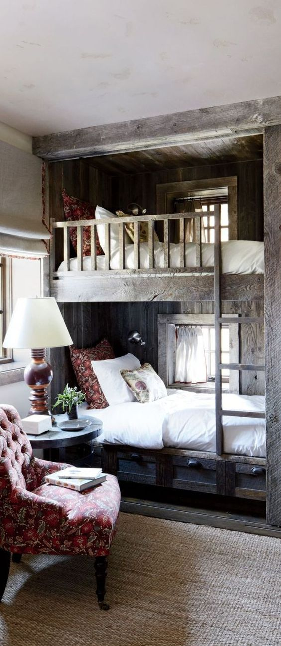 Double Decker rustic bedroom