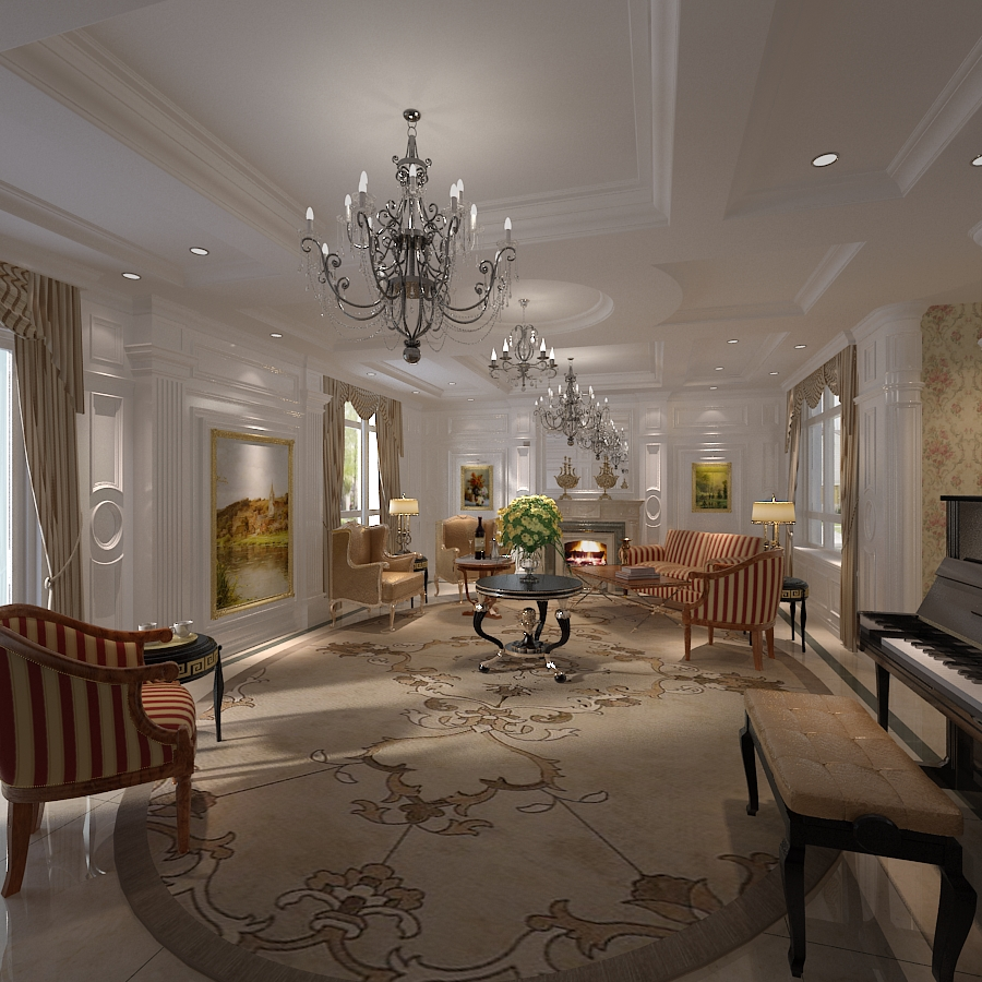 Elegant living room (17)