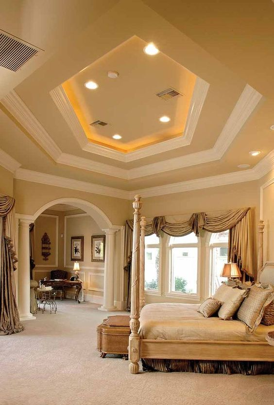 Mediterranean bedroom suite