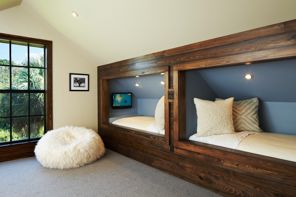 cool-kids-bedroom-Kids-Rustic-with-bed